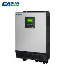 EASUN POWER Solar Inverter Dual MPPT 2400W 80A MPPT Off Grid Inverter 3kva 48V 220V Pure Sine Wave Inverter 60A Battery Charger(China)