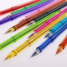 1 Set 12 Support New Novelty Candy Colors Colorful Gel Pen Set School Supplies Colored Gel Pens