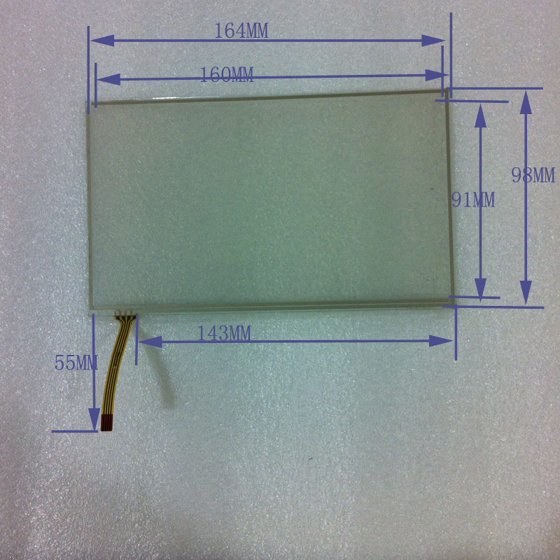 POST 7 line resistor touch screen handwritten 164 98 clarion touch<br><br>Aliexpress