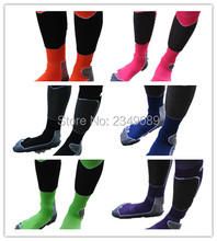 1 pair Europe winter fashion  snowboard socks  lovers socks  6 colors for men and women