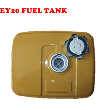 FUEL TANK ASSEMBLY FOR EY20 EY18 EY15 CHINESE 167F ENGINE CHEAP GAS GENERTOR WATER PUMP REPLACE+fuel cap+filter