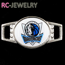 Dallas Mavericks  Shoelace Buckle Charms Basketball Team Charms For New Sneakers Sport Shoes Paracord Bracelets Decoration