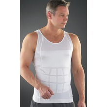 TV shopping products, Slim lift Men's body sculpting slimming vest,Waist and abdomen underwear less beer belly