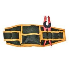 Eléctrico ajustable herramientas cinturón Hardware Herramientas bolsillos  construcción paquetes lona gruesa bolsa 5d2d2ce00644