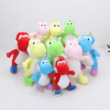 18cm / 25cm Super Mario Bros plush toys Yoshi Dinosaur Stuffed Doll children gift(China)