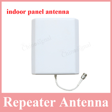 800-2500mhz indoor panel antenna for cell phone amplifier 8dbi cdma gsm dcs wcdma direction anntenna for indoor use