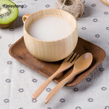 2017 Hot Water Wood Cup Mugs Protein Shaker Garrafa Agua Copo Com Canudo Milk Readily Classic Bottle Mug With Spoon Included