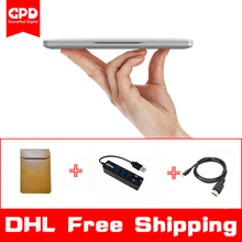 New Original GPD Pocket 7 Inch Mini Laptop UMPC Windows 10 System Aluminum Shell CPU x7-Z8750 8GB/128GB ( Silver)(China)