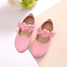 Children Shoes Girl Fashion Flower Kid Shoes Solid All Match Casual Princess Shoes Kids Beach Sandals Baby Toddler Shoes