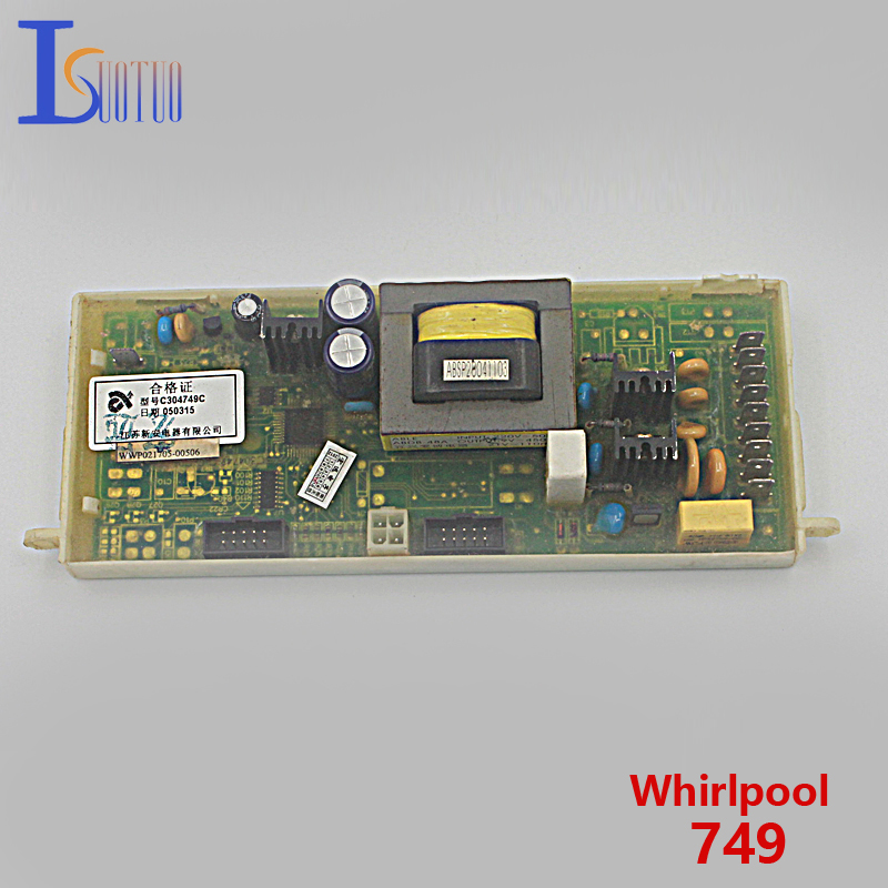 Whirlpool washing machine computer board 749 square button brand new spot commodity<br>