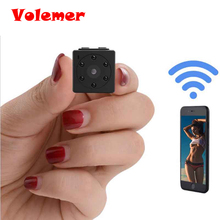 Volemer C4 1080P HD Wireless WiFi Network Micro-camera Infrared Light Night Vision Camera support 64G Video Recorder PK SQ11 C11(China)
