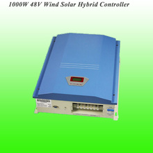 2017 Hot Selling 1000W 48V Automatic Brake Protecting Advanced Wind Solar Hybrid Controller Charge Controler