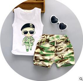 2016 summer style baby girls clothing sets fringed vest letter t-shirt + denim short suit fashion kids clothes<br><br>Aliexpress