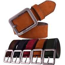 Men Casual Waistband Leather Automatic Buckle Men Belt Waist Strap Beltss designer belts men high quality #ED(China)