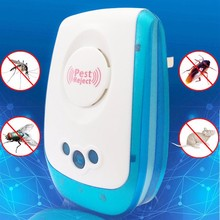 Home Necessary Ultrasonic Electronic Pest Mouse Cockroach Repeller Reject Pest Control Multi-Purpose US/UK Standard Plug