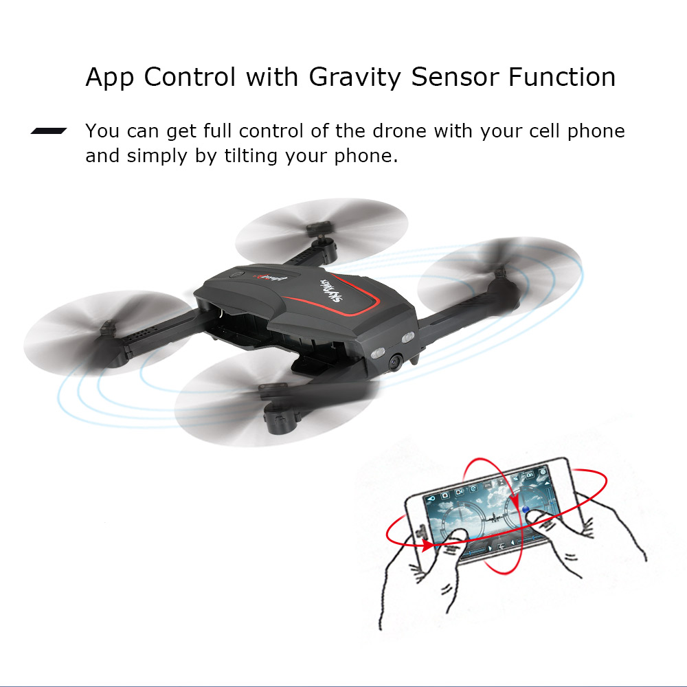 WL Tech Q626-B Wi-Fi FPV 720P RC Drone with Camera HD Selfie Drone Altitude Hold RC Quadcopter RTF Helicopter Dron Machine (12)