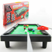 1 Set Simulation Kids Mini Snooker Billiards Table Game Christmas Gifts kids indoor toys