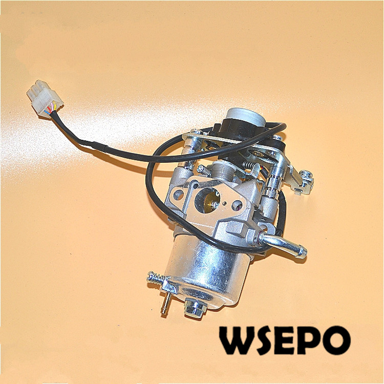 Chongqing Quality! MZ80 144F Carburetor/Carb with Step Motor for 1KW Small Portable Invertor Generators<br>