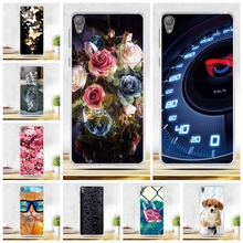 Luxury Soft TPU Cover Cases For Sony Xperia E5 F3311 F3313 Soft Silicone TPU Back Cover Phone Case For Sony Xperia E5 E 5 Coque(China)