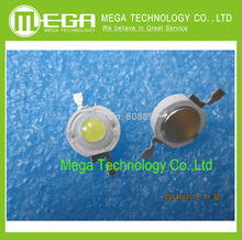 1W LED High power beads Pure White/Warm White 350mA 3.2-3.4V 100-120LM 30mil Taiwan Genesis Chip Integrated Circuits(China)