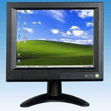 "8"" LCD desktop touch screen monitor with VGA and gift packaging and hot promotion(China)"