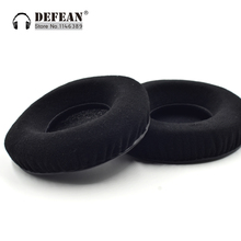 Protein velour or leatherette Replacement Cushioned Ear Pads For Denon DN HP1000 DJ Headphones(China)
