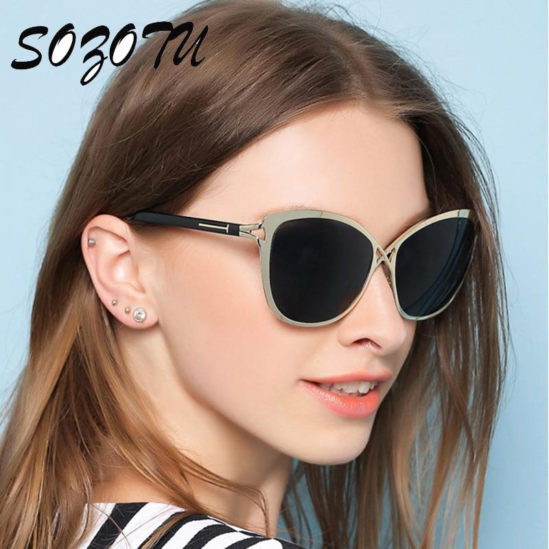 High Quality Fashion Sunglasses Women Copper Frame Sun Glasses Ladies Luxury Brand Designer For Female Oculos de sol YQ158<br><br>Aliexpress