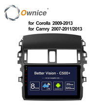 "Ownice C500+ 8 Core 10.1"" Android 6.0 car Radio player DVD 32G ROM for Toyota Corolla 2009 - 2013 Camry 2007 - 2011 2013 4G DAB+"