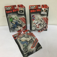 Flick Trix Bike MODEL CHECK BEST 3PCS SET Mike Day & Dave Mirra & Ryan Nyquist