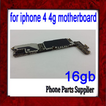 16gb Original Unlocked for iphone 4 4g Motherboard with Chips,100% Test for iphone 4g Motherboard,Free Shipping