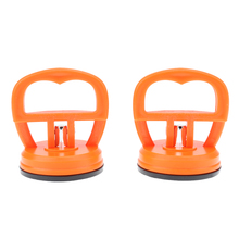 2Pcs Orange Phone Repair Screen Glass Open Tool Lift Vacuum Strong Suction Cup Sucker Screen Tools NG4S(China)