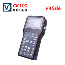 2017 Latest Version V45.06 CK100 CK-100 Car key transponder key programmer Upgraded version of SBB key programmer Free shipping(China)