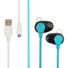 Motion Bluetooth Headset Stereo Music Telephone Voice In-Ear Earphones Headphone With 80Mah Battery Universal For Many Devices