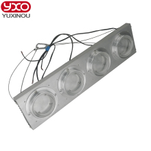 200W 400W High Power LED Heatsink cooling with fans Lens led radiator for led full spectrum grow light,led aquarium light
