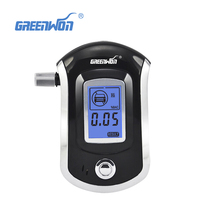 2017 prefessional police digital breath alcohol tester Breathalyser alcoholmeters dropshipping