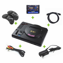 Newest RETROAD HD 720DPI 16bit SEGA Genesis/MEGADRIVE1 TV game console 112IN1 classic games include with 2.4G wireless joypad