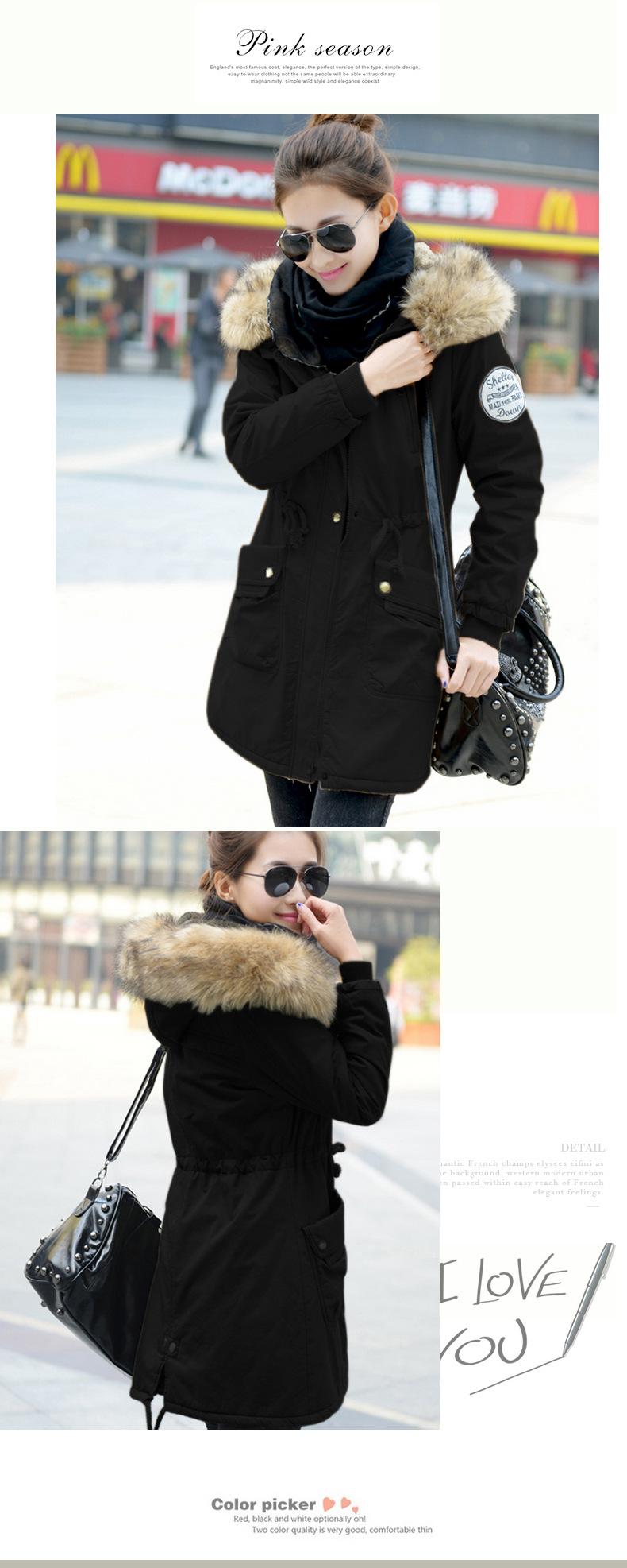 معطف السيدات متوسطة الطويلة 10