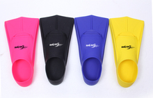 High quality rubber short flippers Swimming Training Fins Diving fins for Adult