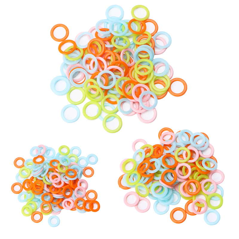 GOLD Stitch Holders Markers Plastic Locking for Crochet Knitting Hook Clip Hooks