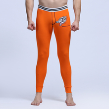 Brand Mens Long Johns Sexy Mens Underwear Thermal Cotton Man Male Warm Winter Long Pants Trousers Thermo Underpants