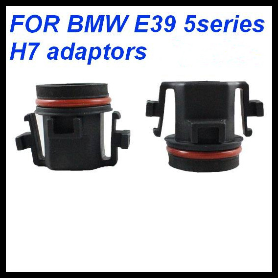 H7 Car HID Xenon H7 Low Beam Bulbs Installation Socket Conversion Adapter for BMW E39 H7 base socket adaptor for BMW 5 series<br><br>Aliexpress