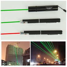 AIFENG High Power Focus, Green Laser Pointer Pen Continuous Line of 500 to 3000 meters Laser red tease dogs and cats