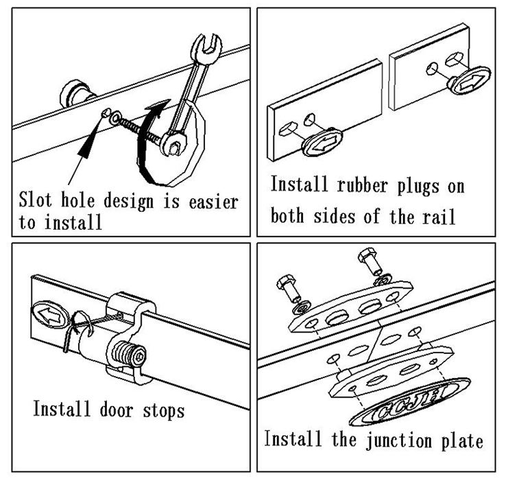 Install Sliding Rail