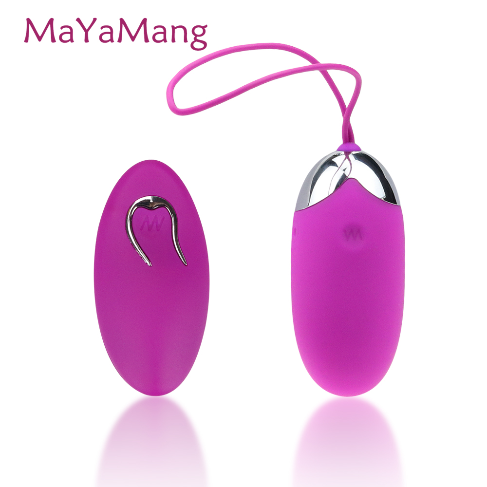 Baile USB Rechargeable Remote Control Bullet Vibrator 12 Modes Vibrating Egg Adult Sex Toys Woman Sex Products