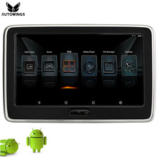 Android 6.0 10.6 inch Touch Screen Monitor Car Headrest Monitor for Car 1080P Video Player Built-in Speaker HDMI WiFi Bluetooth