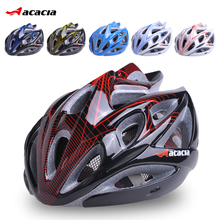 2017 Sale Capacete Ciclismo Acacia Bicycle Helmet Outdoor Ride Riding Bike Mountain Cycling Bmx Hero Adjustable Adult Mens Women(China)