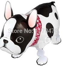 20pc Pet ballon bulldog pet style ball walking balloons animals style balloon inflatable toys for kids party decortions