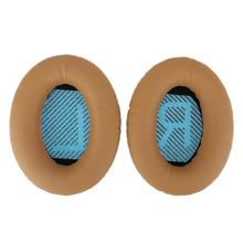 1pair Replacement Ear Pads Cushions for Bose QuietComfort QC35 Wireless Headphones Eeapads Ear Cups Cover
