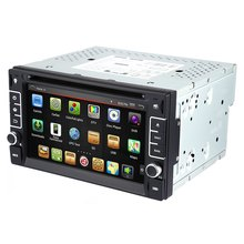 6.2 inch GPS Navigation Console Car DVD Stereo Video Player with Capacitive Screen Android 4.4.4 Cortex A9 CPU 1GB RAM 0.98G ROM