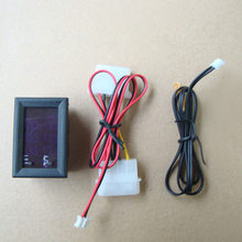 1Pc DC 5V Digital Thermostat Heat Cool Temperature Controller Alarm Sensor Meter Fahrenheit / degrees Celsius